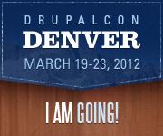 DrupalCon Denver 2012 - I'm Going!