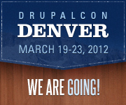 DrupalCon Denver 2012 - We're Going!
