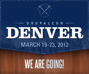 DrupalCon Denver 2012 - We're Going!