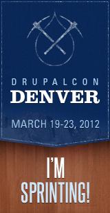DrupalCon Denver 2012 - I'm Sprinting!